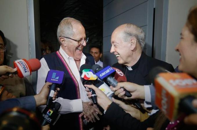 El presidente electo y el cardenal primado, por Federico Prieto